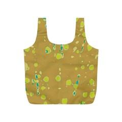 Digital art Full Print Recycle Bags (S)