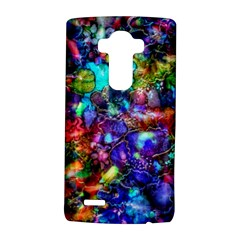 Blue Floral Abstract LG G4 Hardshell Case