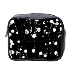 Black dream  Mini Toiletries Bag 2-Side
