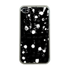Black dream  Apple iPhone 4 Case (Clear)