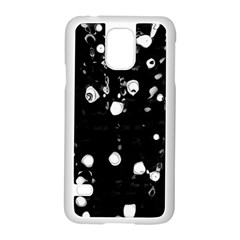 Black dream  Samsung Galaxy S5 Case (White)