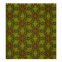 Camo Abstract Shell Pattern Shower Curtain 66  x 72  (Large)