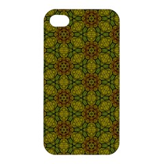 Camo Abstract Shell Pattern Apple iPhone 4/4S Hardshell Case