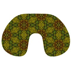 Camo Abstract Shell Pattern Travel Neck Pillows