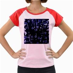Blue dream Women s Cap Sleeve T-Shirt