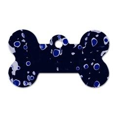 Blue dream Dog Tag Bone (Two Sides)