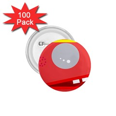 Cute face 1.75  Buttons (100 pack)