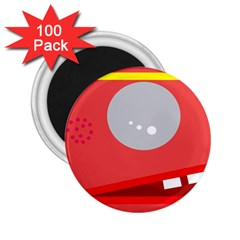 Cute face 2.25  Magnets (100 pack)