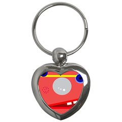 Cute face Key Chains (Heart)