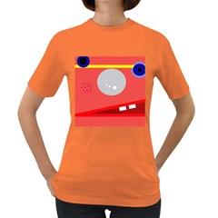 Cute face Women s Dark T-Shirt