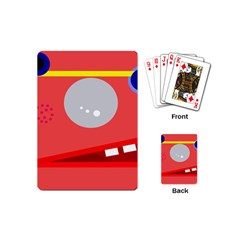 Cute face Playing Cards (Mini)