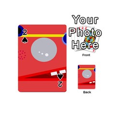 Cute face Playing Cards 54 (Mini)