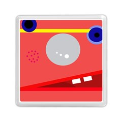 Cute face Memory Card Reader (Square)