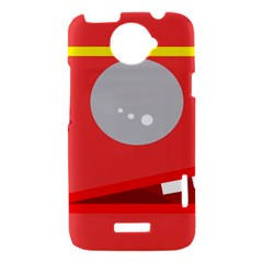 Cute face HTC One X Hardshell Case