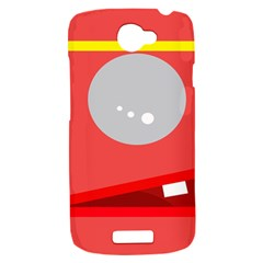 Cute face HTC One S Hardshell Case