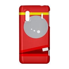 Cute face HTC Evo Design 4G/ Hero S Hardshell Case