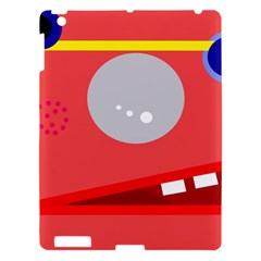Cute face Apple iPad 3/4 Hardshell Case