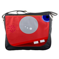 Cute face Messenger Bags