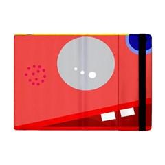 Cute face Apple iPad Mini Flip Case