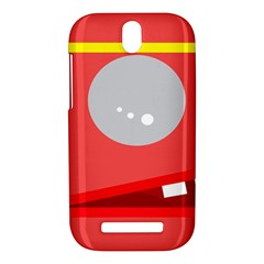Cute face HTC One SV Hardshell Case