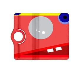 Cute face Kindle Fire HDX 8.9  Flip 360 Case