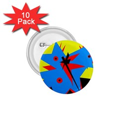 Clock 1.75  Buttons (10 pack)