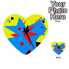 Clock Playing Cards 54 (Heart)