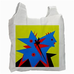 Clock Recycle Bag (Two Side)