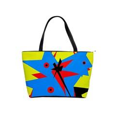 Clock Shoulder Handbags