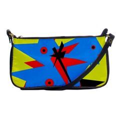 Clock Shoulder Clutch Bags