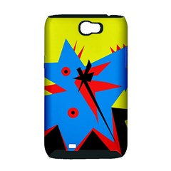 Clock Samsung Galaxy Note 2 Hardshell Case (PC+Silicone)