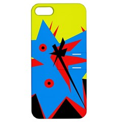Clock Apple iPhone 5 Hardshell Case with Stand