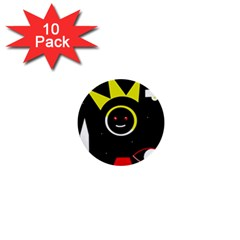 Stay cool 1  Mini Buttons (10 pack)