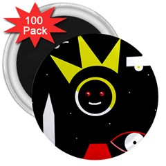 Stay cool 3  Magnets (100 pack)