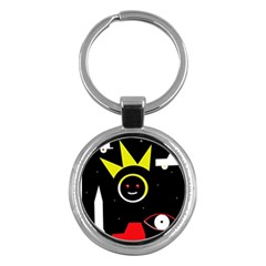 Stay cool Key Chains (Round)