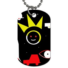 Stay cool Dog Tag (Two Sides)
