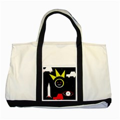 Stay cool Two Tone Tote Bag