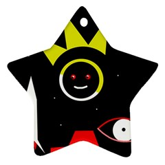 Stay cool Star Ornament (Two Sides)