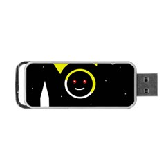 Stay cool Portable USB Flash (Two Sides)