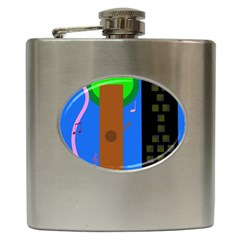 Growing  Hip Flask (6 oz)