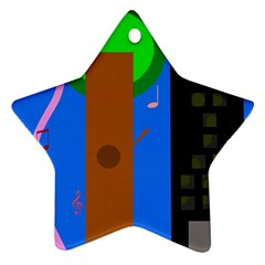 Growing  Star Ornament (Two Sides)