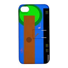 Growing  Apple iPhone 4/4S Hardshell Case with Stand
