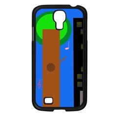Growing  Samsung Galaxy S4 I9500/ I9505 Case (Black)