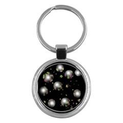 Silver balls Key Chains (Round)
