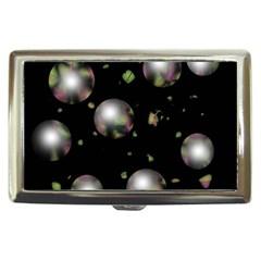 Silver balls Cigarette Money Cases
