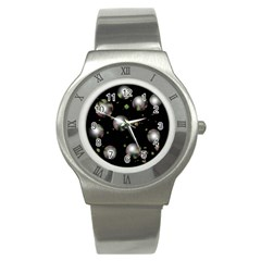 Silver balls Stainless Steel Watch