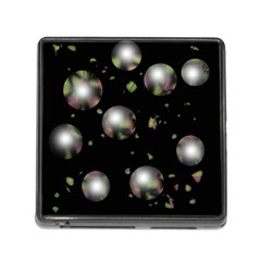 Silver balls Memory Card Reader (Square)