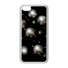 Silver balls Apple iPhone 5C Seamless Case (White)