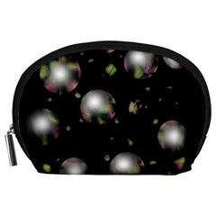 Silver balls Accessory Pouches (Large)