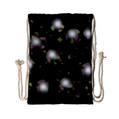 Silver balls Drawstring Bag (Small)
